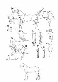 3d horse origami diagram paper origami guide
