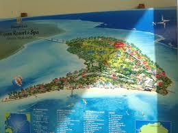 fiji resort map resort fiji resorts on the