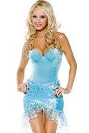Ariel Mermaid Halloween Costume French Maid Costume Halloween