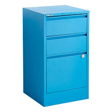 Three Drawer File Cabinet Bisley Cerulean Blue 2 U0026 3 Drawer Locking Filing Cabinets The