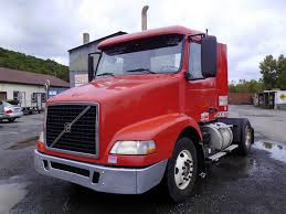 red volvo truck 2006 volvo vnm42t single axle day cab tractor for sale by arthur