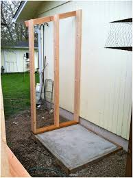 backyards awesome small backyard shed 112 with sliding door
