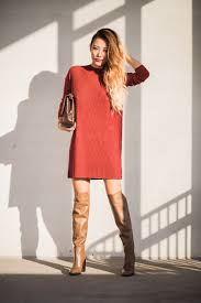 dresses with boots what to wear with your the knee boots glam radar