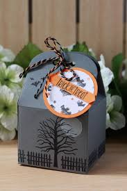 halloween take out boxes the stampin b september 2016