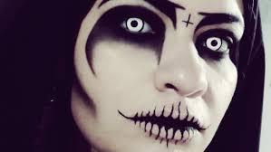 Sorceress Makeup For Halloween by Halloween The Soultaker Makeup Youtube