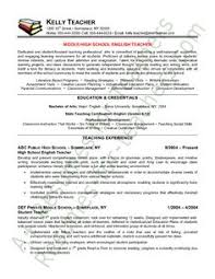 english teacher sample resume gallery creawizard com