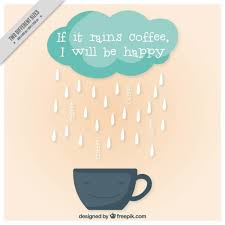 smiling cup with happy message vector free