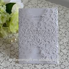 Wedding Invitations Philippines 2017 Floral Laser Cut Wedding Invitations Philippines With