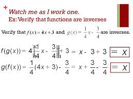 inverse functions worksheet worksheets