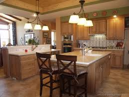 Best Craftsman Style Kitchens Images On Pinterest Dream - Kitchen designs with oak cabinets