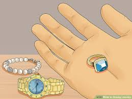 colored necklace display images 3 ways to display jewelry wikihow jpg