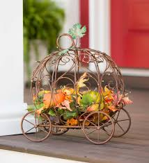 Wire Pumpkin Carriage Centerpiece by Pin By Linda Singletary On Kristina U0027s Halloween Party Pinterest