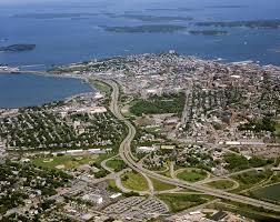 portland maine aerial photography samples