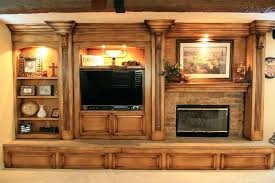 Entertainment Center With Electric Fireplace with Custom Entertainment Centers Temecula Closets Direct Center Built