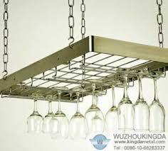 wall mounted glass racks hanging wine rack wuzhou kingda wire