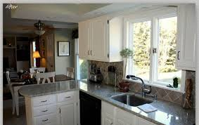 painting oak kitchen cabinets white before and after best white painted kitchen cabinets ideas all home design ideas