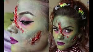 frankenstein halloween makeup tutorial natty beats youtube