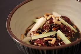 comment cuisiner la poire de boeuf tartare de boeuf à la coréenne beau à la louche
