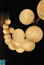String Ball Lights by 71 Best Lampki Kule Images On Pinterest Cotton Ball Lights