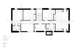 first floor master bedroom floor plans gallery of the nook hall bednarczyk 15