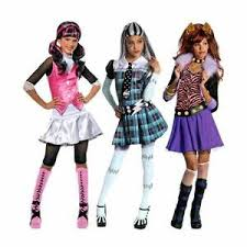 Monster Halloween Costumes Girls Girls Monster Halloween Kids Teens Costume Dressing
