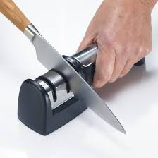 kitchen knives sharpening pull through knife sharpener