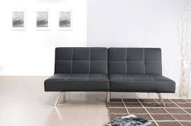 awesome black leather cheap sleeper sofas faux leather sleeper