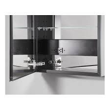 Robern Bristol Pa Robern Plm2440 Pl Series 23 1 4 W X 39 3 8 H Flat Mirrored Door