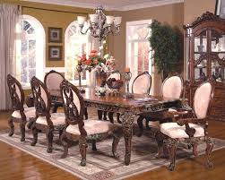 solid cherry wood dining room furniture queen anne set table sets