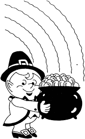 holidays coloring pages cute leprechaun coloring page kids