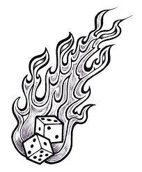 flames tattoo designs clip art library