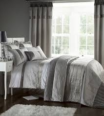 catherine lansfield gatsby super king duvet set amazon co uk