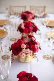 Red Wedding Decorations 28 Red Pink And Sparkle Gold Wedding Color Palette Ideas
