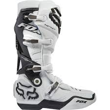 dirt bike racing boots all new fox racing 2015 instinct boots white wide selection of fox
