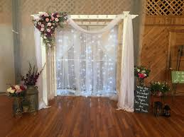 wedding arches with lights lighted wedding arch disney wedding theme backdrop was pvc pipe