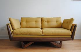 Modern Yellow Sofa Mid Century Modern Yellow Sofa
