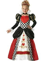Black Halloween Costumes Girls Amazon Incharacter Costumes Girls Queen Hearts Costume