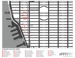 Chelsea Map Chelsea Gallery Guide Ffffff Walls