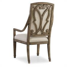 Light Oak Dining Chairs Seldens Home Furnishings Hooker Furniture Solana Arm Dining