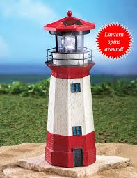 amish made patriotic model wooden garden lighthouse amazoncom