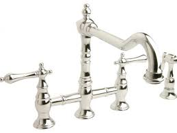 bridge style kitchen faucet beautiful bridge style kitchen faucet related to interior