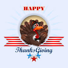 thanksgiving tie happy thanksgiving message and turkey wearing a farmer