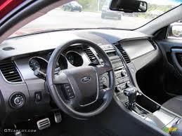 Taurus Sho Interior Charcoal Black Interior 2010 Ford Taurus Sho Awd Photo 38641622