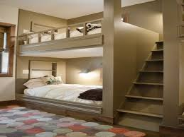 Plans For Loft Beds With Stairs by Best 25 Queen Bunk Beds Ideas On Pinterest Queen Size Bunk Beds