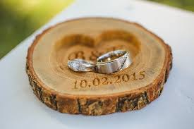 Wedding Ring Holder by 20 00 Usd Personalized Wood Ring Holder Rustic Wedding Ring