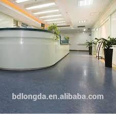 Plastic Laminate Flooring Anti Bacterial Pvc Engineered Commercial Plastic Laminate Floor