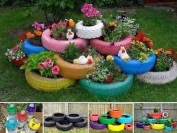 Diy Garden Art Diy Tire Garden Pictures Photos And Images For Facebook