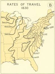 Map Of United States During Civil War by A Mapped History Of Taking A Train Across The United States The