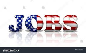 Us Flag Stripes Number Word Jobs American Flag Colors Jobs Stock Illustration 86268400