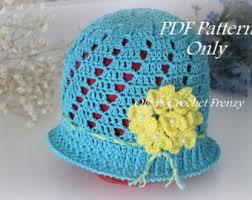 dress pattern 5 year old light pink cloche girls hat crochet pattern by olgascrochetfrenzy